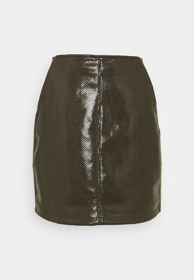 LADIES SKIRT - Minirock - khaki