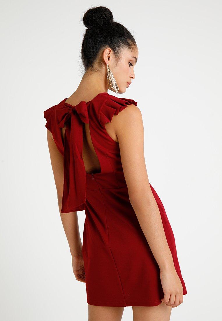 Molly Bracken - LADIES DRESS - Jerseykleid - dark red