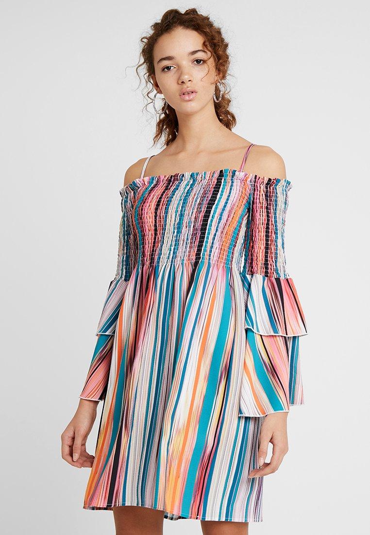 Molly Bracken - LADIES WOVEN DRESS - Freizeitkleid - multicolor