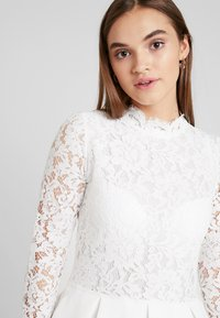 Molly Bracken - LONG SLEEVES - Juhlamekko - white