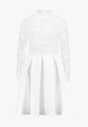 LONG SLEEVES - Koktejlové šaty/ šaty na párty - white