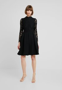 Molly Bracken - LONG SLEEVES - Sukienka koktajlowa - black - 1
