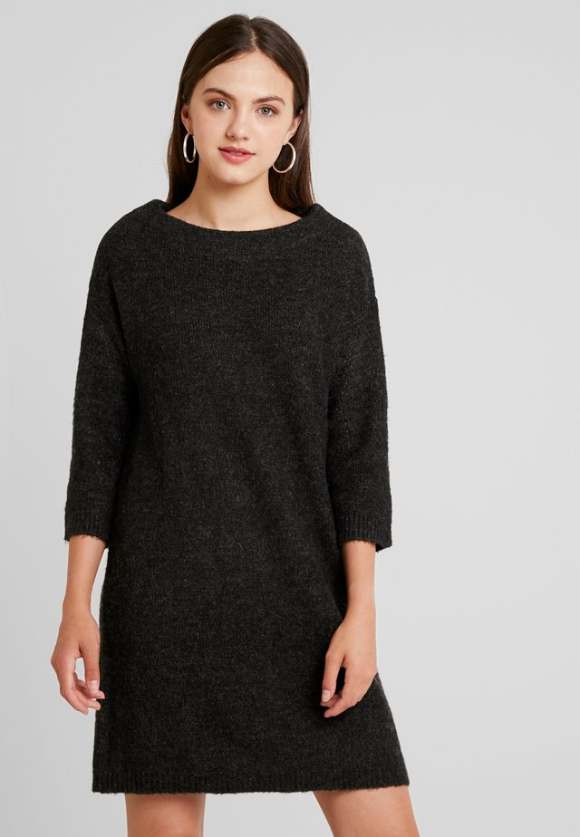 LADIES DRESS - Jumper dress - ash black