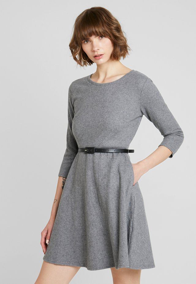 LADIES DRESS - Jumper dress - grey