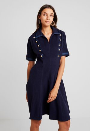YOUNG LADIES DRESS - Robe chemise - navy blue