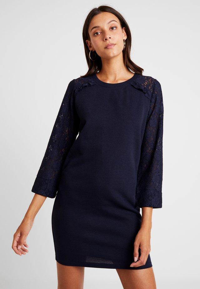 LADIES DRESS - Strickkleid - navy blue