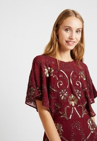 Molly Bracken - LADIES DRESS - Cocktailklänning - dark red - 4