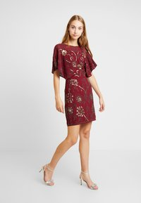 Molly Bracken - LADIES DRESS - Cocktailklänning - dark red - 2