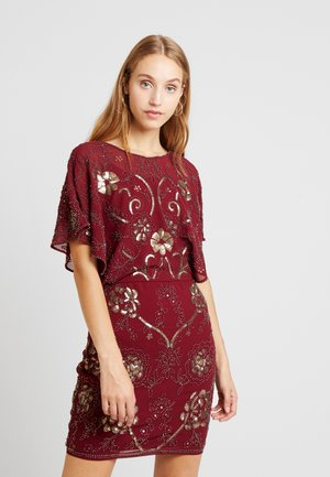 Cocktail dress / Party dress - dark red
