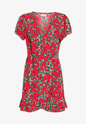 LADIES DRESS - Robe d'été - poppies red