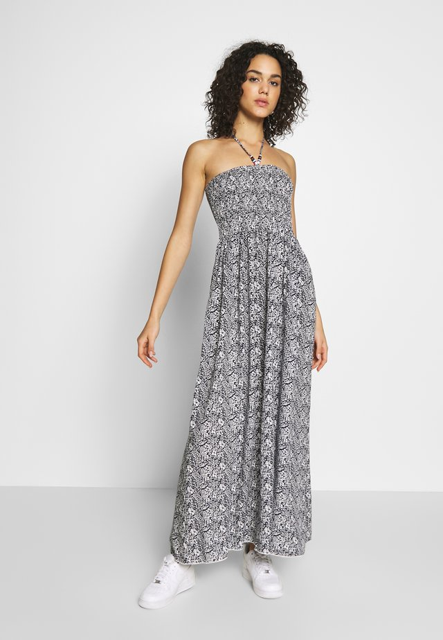 LADIES WOVEN DRESS - Maxi-jurk - navy