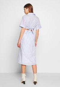 Molly Bracken - LADIES WOVEN DRESS - Sukienka koszulowa - blue - 2