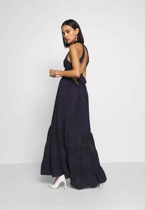 LADIES WOVEN DRESS - Korte jurk - navy blue