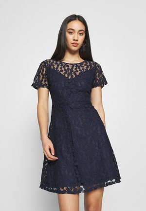 LADIES DRESS - Cocktailklänning - navy blue