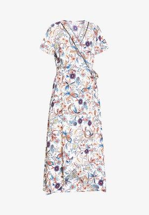 LADIES WOVEN DRESS - Robe longue - dalhia blue