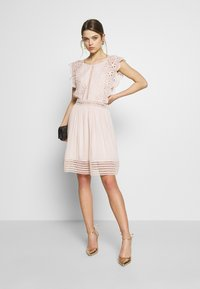 Molly Bracken - LADIES DRESS PREMIUM - Sukienka koktajlowa - beige - 1