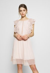 Molly Bracken - LADIES DRESS PREMIUM - Sukienka koktajlowa - beige - 0