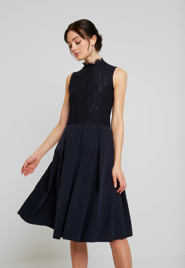 DRESS - Cocktailjurk - navy blue