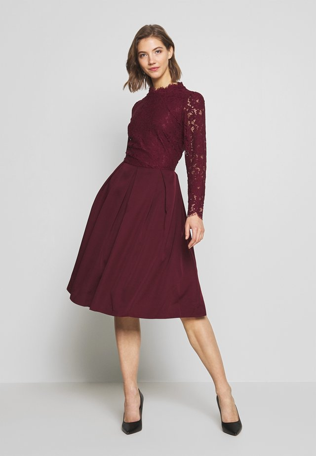 DRESS - Cocktailjurk - dark red
