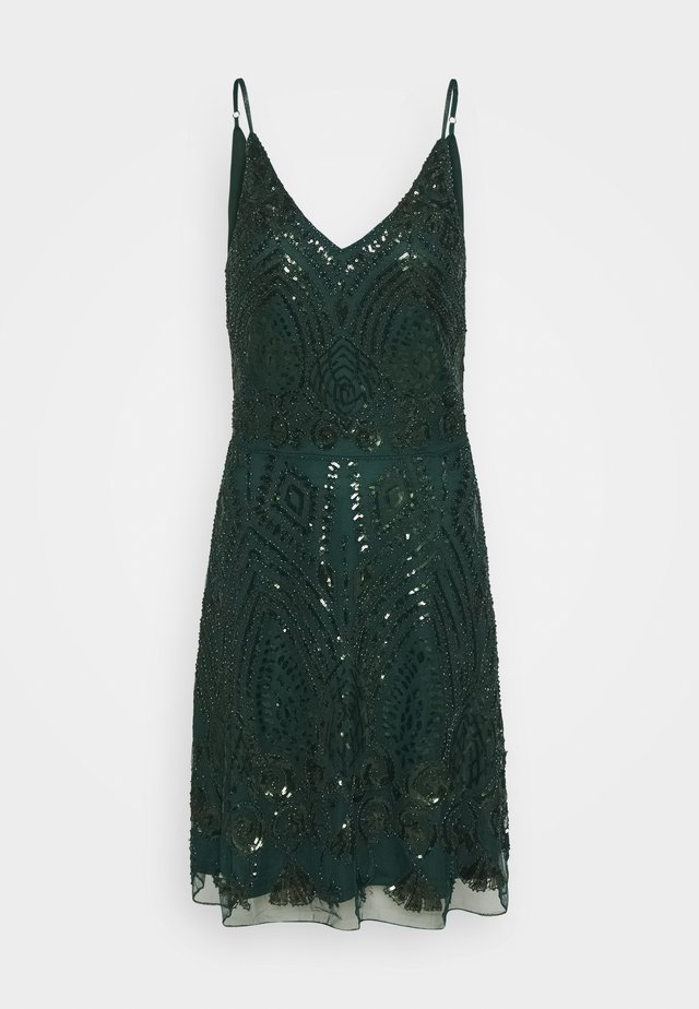 LADIES DRESS - Cocktailjurk - dark green