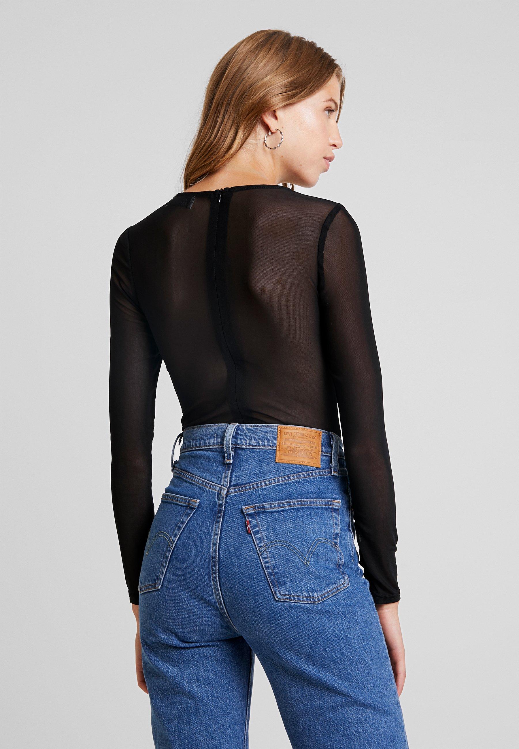 manches Bracken black Molly BODYT shirt à longues LADIES PXwkiuTOZ
