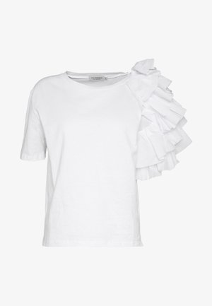 YOUNG LADIES TEE - Print T-shirt - white
