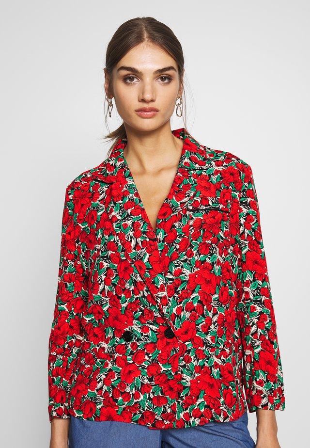 LADIES - Blazere - poppies red