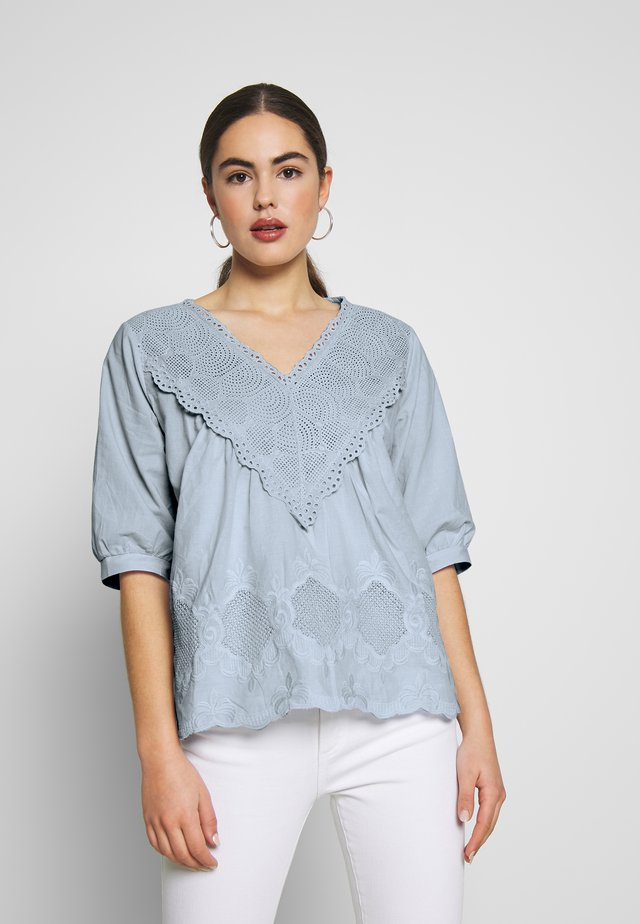 YOUNG LADIES WOVEN BLOUSE - Camicetta - light blue