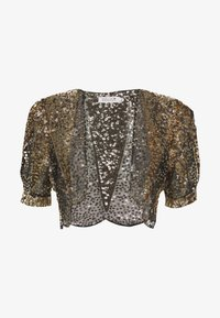 Molly Bracken - LADIES BOLERO - Blazer - gold - 4