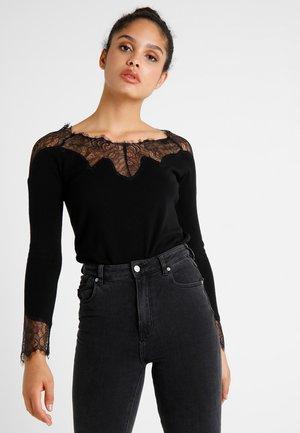 LADIES  - Stickad tröja - black