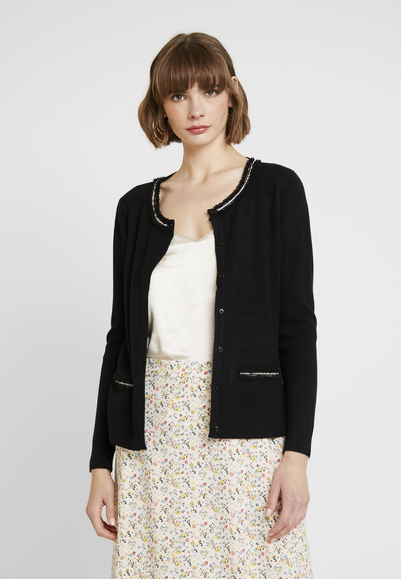 Molly Bracken - LADIES CARDIGAN - Strickjacke - black