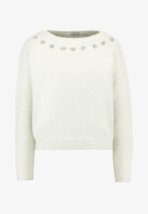LADIES KNITTED - Neule - white