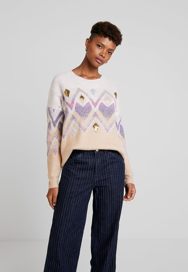 LADIES - Jumper - beige