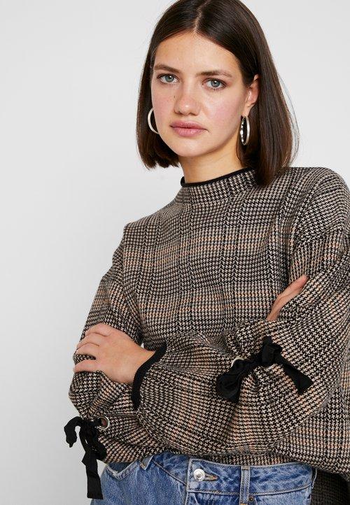 Molly Bracken STAR LADIES - Sweter - beige Odzież Damska RYTI-FF8 dobry