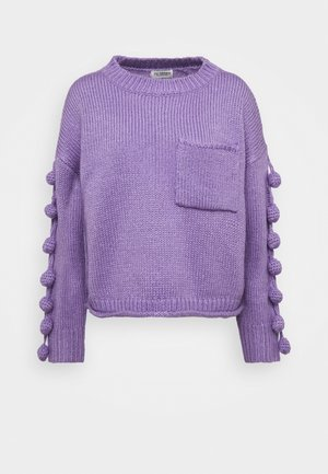 YOUNG LADIES - Sweter - mauve