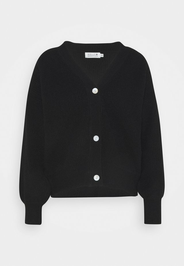 LADIES CARDIGAN - Cardigan - black