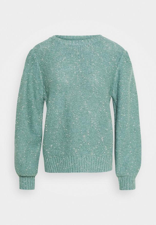 LADIES - Stickad tröja - light turquoise