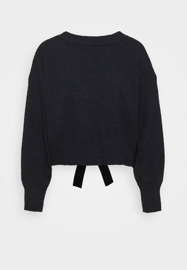 LADIES - Jumper - navy blue