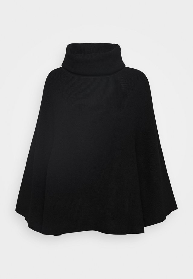 LADIES - Poncho - black