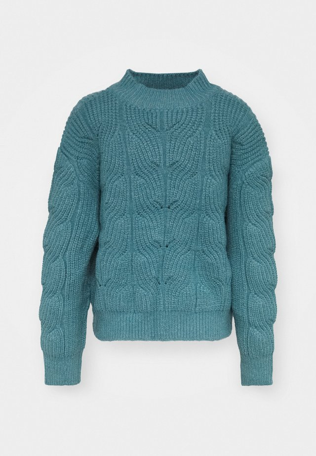 YOUNG LADIES SWEATER - Stickad tröja - blue