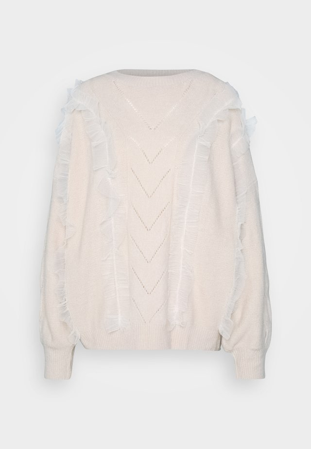 LADIES - Pullover - offwhite