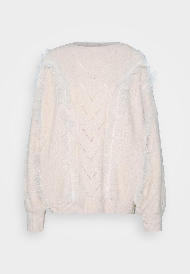 LADIES - Stickad tröja - offwhite
