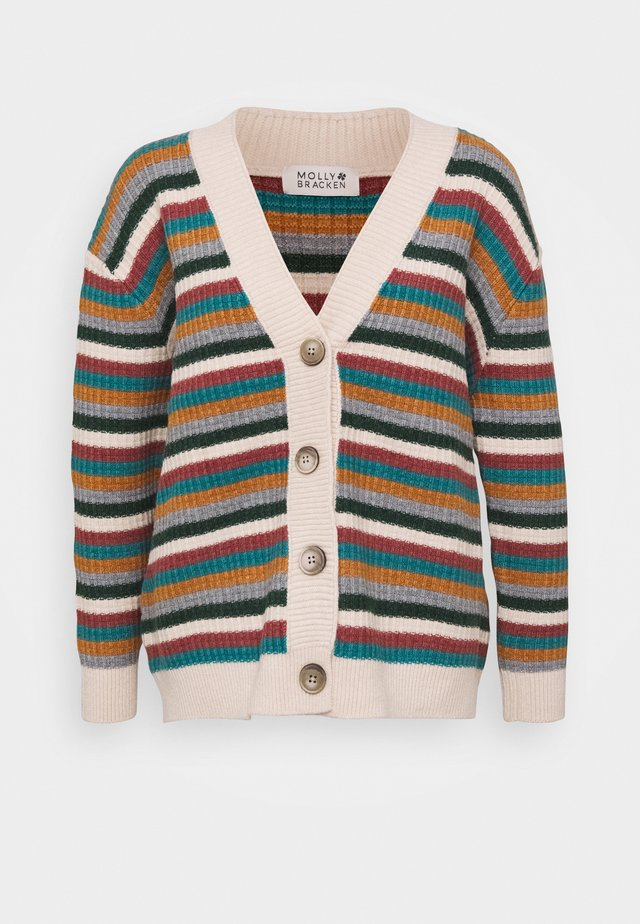 LADIES CARDIGAN - Strickjacke - multicolour