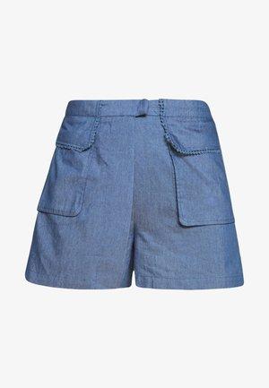 LADIES - Short - denim blue