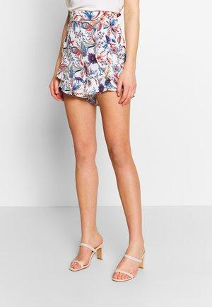 LADIES WOVEN - Shorts - dalhia blue