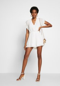 Molly Bracken - LADIES WOVEN PLAYSUIT - Overall / Jumpsuit - white - 1