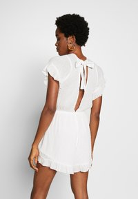 Molly Bracken - LADIES WOVEN PLAYSUIT - Overall / Jumpsuit - white - 2