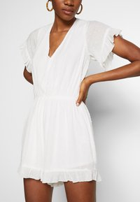 Molly Bracken - LADIES WOVEN PLAYSUIT - Overall / Jumpsuit - white - 5