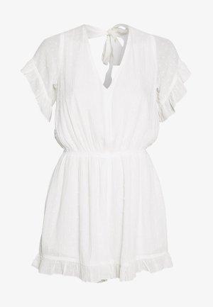 LADIES WOVEN PLAYSUIT - Jumpsuit - white