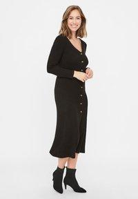 MAMALICIOUS - Jumper dress - black - 0